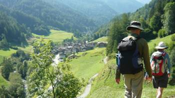 Rambling above a Swiss mountain village | Jac Lofts