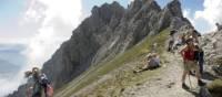 Trekkers in the Trans Tyrol   Helmut Wagner