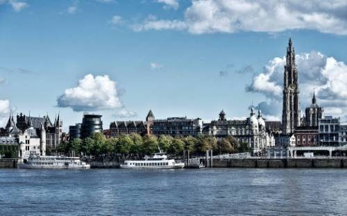 Antwerp skyline&#160;-&#160;<i>Photo:&#160;Visit Antwerp</i>