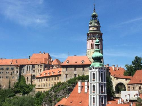 The rooftops of Cesky Krumlov&#160;-&#160;<i>Photo:&#160;Els van Veelen</i>
