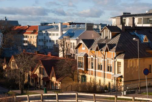 Wooden houses in Turku&#160;-&#160;<i>Photo:&#160;Lasse Ansaharju</i>