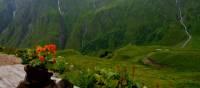 Le Tour du Mont Blanc, Alpage la Peulaz | Sarah Rickard