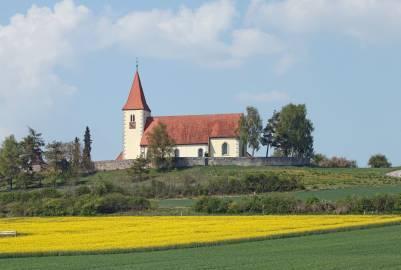 Church near to Ehingen, Bavaria