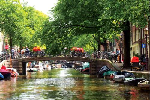 The famous canals of Amsterdam&#160;-&#160;<i>Photo:&#160;Nick Kostos</i>