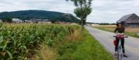 Cycling near the Slovak border, following the Danube River | Lilly Donkers