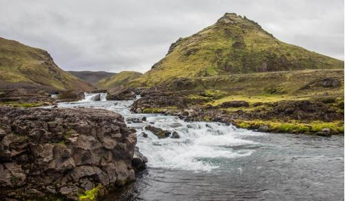 Experience the natural beauty of the Laugavegur Trail in Iceland on a walking holiday