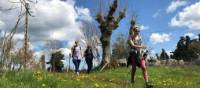 Walking in the glorious Italian weather on the Via Francigena | Allie Peden