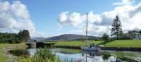 The picturesque Caledonian Canal