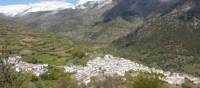 Whitewashed village nestled in the mountains of the Alpujarras | Erin Williams
