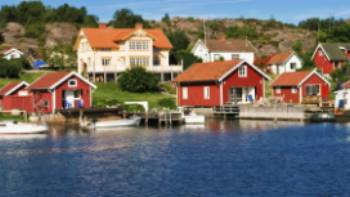 Summer houses in the Swedish archipelago