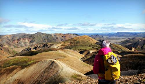 On the Laugavegur trek in amazing Iceland&#160;-&#160;<i>Photo:&#160;Liss Myrays</i>