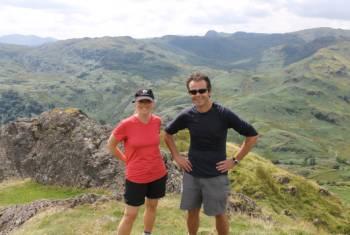 Hiker with Coast to Coast guide John Millen&#160;-&#160;<i>Photo:&#160;Jaclyn Lofts</i>