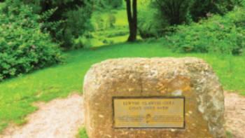 Starting stone of The Offa's Dyke Path   John Millen