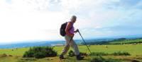 Walker on the Dyke, Kington | John Millen