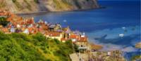 Robin Hoods Bay, the end point of the Coast to Coast walk