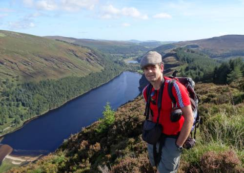 Walking above Glendalough&#160;-&#160;<i>Photo:&#160;John Millen</i>
