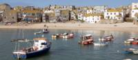 The pretty beach at St Ives in Cornwall
