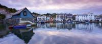 Reflections in Mevagissey Harbour