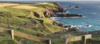 The stunning Cornish coast