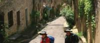 Walking in Bruniquel