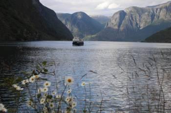 Aurland Ferry on the Aurlandsfjord&#160;-&#160;<i>Photo:&#160;John Millen</i>